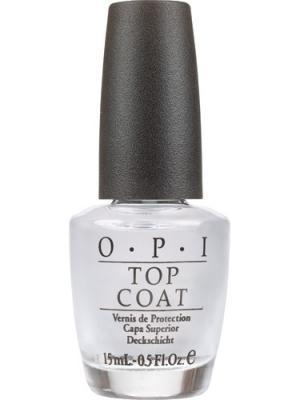Opi Покрытие закрепляющее Top-Coat, 15 мл. Цвет: прозрачный