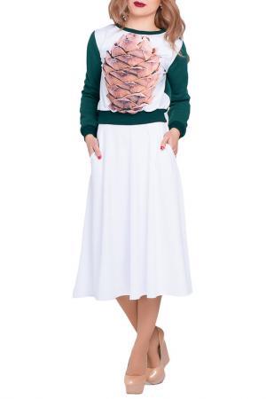 Юбка Majaly. Цвет: белый