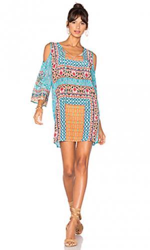 Платье robyn Tolani. Цвет: синий