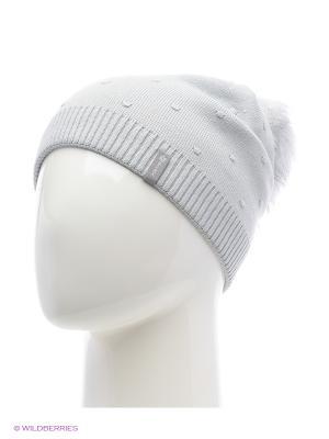 Шишка Беркле шапка женская с помпоном Berkle. Цвет: серый