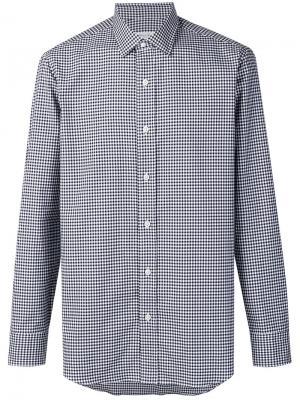 Рубашка с длинными рукавами Salvatore Piccolo. Цвет: синий