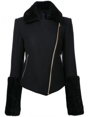 Байкерская куртка Flight Gareth Pugh. Цвет: чёрный