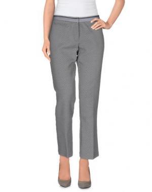 Повседневные брюки TERESA DAINELLI. Цвет: свинцово-серый
