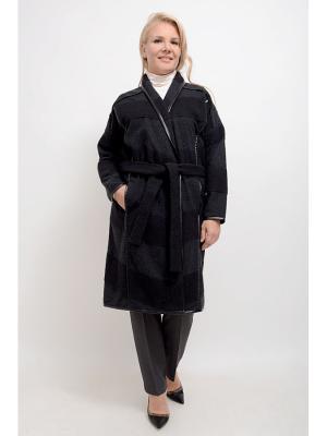 Пальто Эскада LINO RUSSO. Цвет: серый, черный