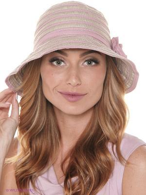 Шляпа FOMAS. Цвет: бежевый, бледно-розовый