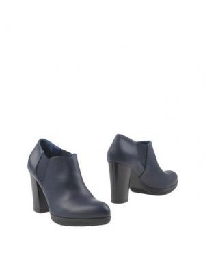 Ботинки GIONATA. Цвет: темно-синий