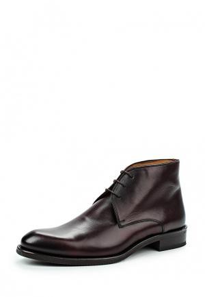 Ботинки Umber. Цвет: бордовый