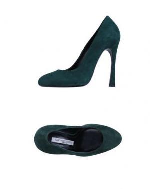 Туфли GIANMARCO LORENZI. Цвет: зеленый