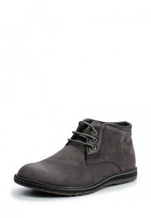 Ботинки Montefiori. Цвет: серый