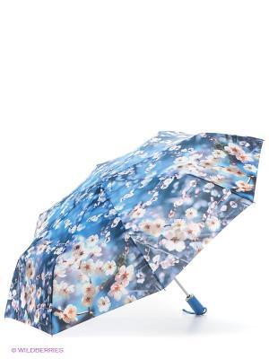 Зонт Zest. Цвет: голубой, белый