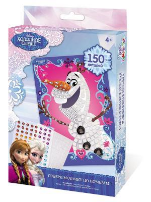 Чудо -Творчество. Disney Мозаика  -сингл Olaf Чудо-творчество. Цвет: белый, черный, розовый