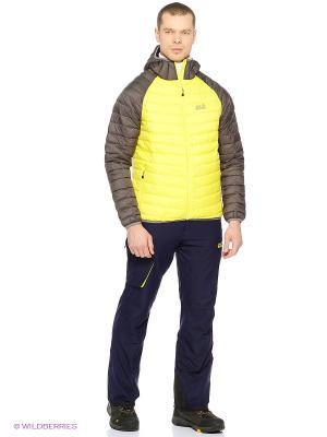 Куртка ZENON XT JACKET MEN Jack Wolfskin. Цвет: желтый, коричневый