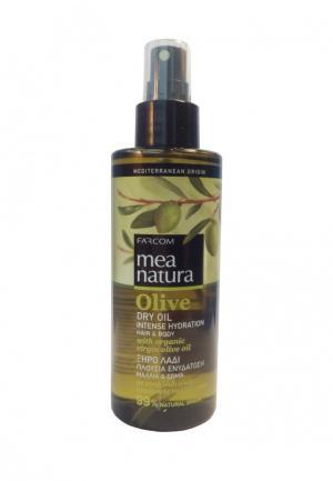 Масло для волос Mea Natura. Цвет: зеленый