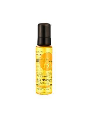 Аргановое масло для волос SILK ARGAN OIL, 85мл Tony Moly. Цвет: прозрачный