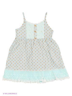 Сарафан Evita Baby. Цвет: голубой