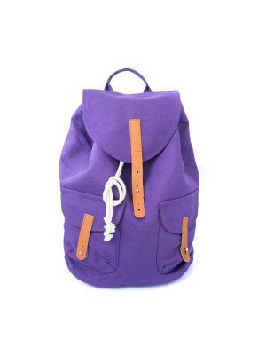 Городской рюкзак TIMBAG. Цвет: темно-фиолетовый, прозрачный