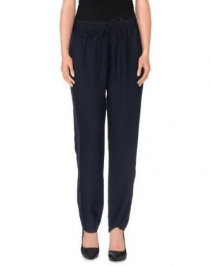 Повседневные брюки MADEGRÈ. Цвет: темно-синий