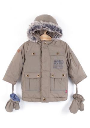 Куртка Coccodrillo. Цвет: бежевый