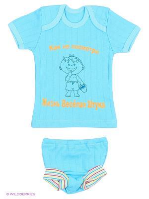 Комплекты одежды для малышей Русь симбирская. Цвет: синий