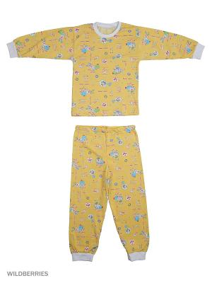 Пижама KIDONLY. Цвет: желтый