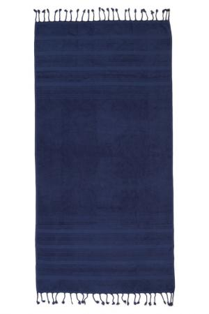 Пляжное полотенце, 80х160 Marie claire. Цвет: dark blue