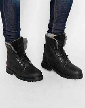 Wrangler Ботинки Aviator. Цвет: черный