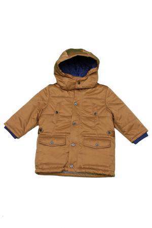 Куртка Hugo Boss. Цвет: коричневый