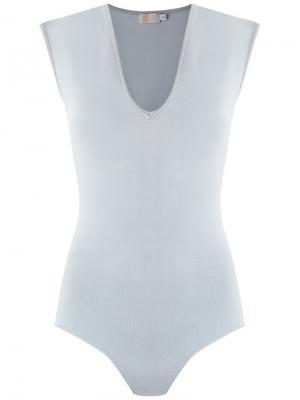 Cap sleeves knit body Gig. Цвет: none