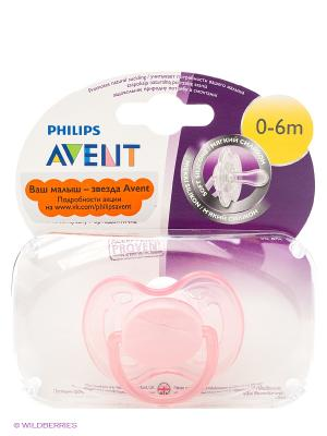 Пустышка Philips Avent серия Freeflow SCF178/13 1 шт. 0-6 мес.. Цвет: розовый