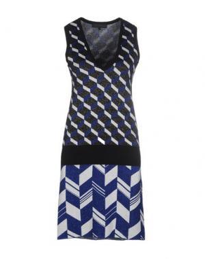 Короткое платье AMERICAN RETRO. Цвет: темно-синий