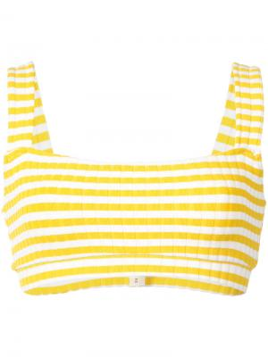 Низ бикини  Madison Solid & Striped. Цвет: жёлтый и оранжевый