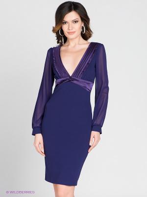 Платье MELANY. Цвет: фиолетовый