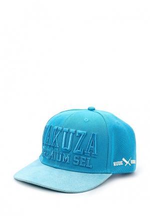Бейсболка Yakuza Premium. Цвет: бирюзовый