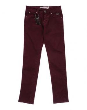 Повседневные брюки ROŸ ROGER'S CHOICE. Цвет: красно-коричневый