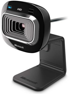Web-камера MICROSOFT LifeCam HD-3000. Цвет: черный