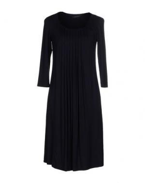 Короткое платье ALFONSO RAY. Цвет: темно-синий