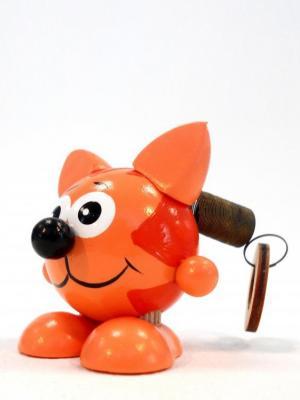 Игрушка подвеска на пружине - Лисёнок Taowa. Цвет: оранжевый