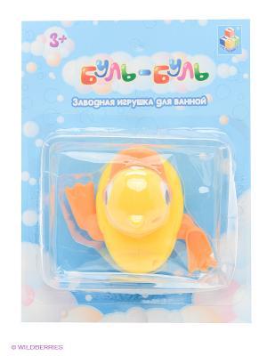 Заводная игрушка для ванной 1Toy. Цвет: желтый
