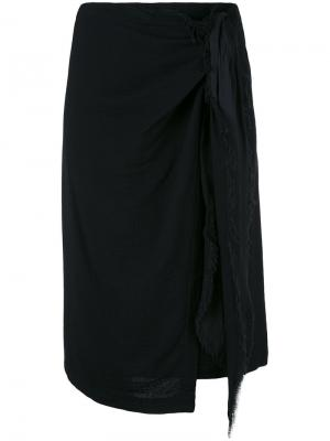Draped skirt Masscob. Цвет: синий