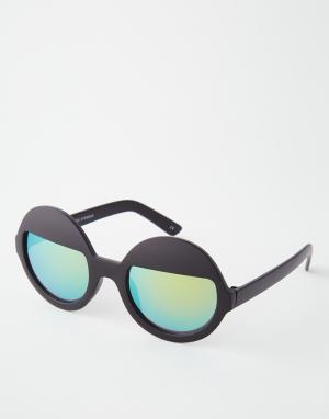 Trip Зеркальные круглые солнцезащитные очки