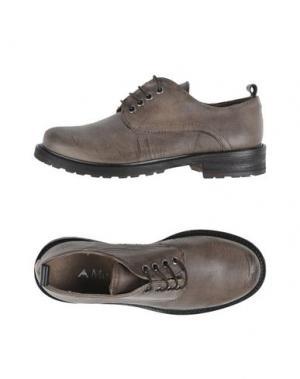 Обувь на шнурках ANDREA MORELLI. Цвет: серый