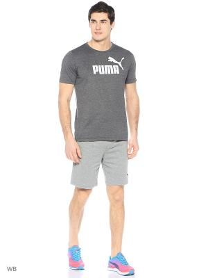 Шорты ESS Jersey Shorts 9 Puma. Цвет: серый