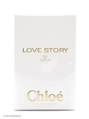 Парфюмерная вода Love Story, 75 мл CHLOE. Цвет: прозрачный