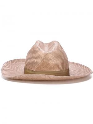 Широкополая шляпа Super Duper Hats. Цвет: телесный