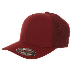 Бейсболка классическая  6533 Maroon Flexfit. Цвет: бордовый