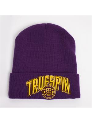 Шапка TRUESPIN Baseball Classic True Spin. Цвет: фиолетовый