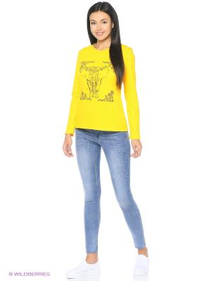 Лонгслив D.S. Цвет: желтый