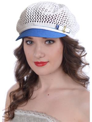 Кепка Сиринга. Цвет: белый, голубой