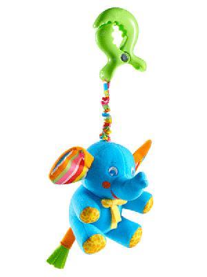 Подвеска Слоненок Tiny Love. Цвет: голубой