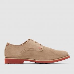 Ботинки-дерби кожаные  CORDES HUSH PUPPIES. Цвет: серо-коричневый